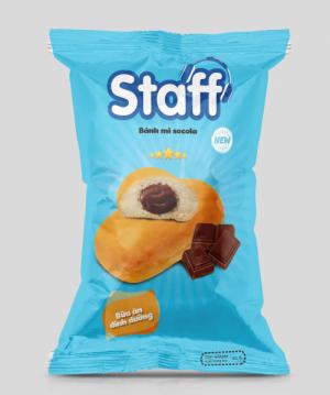Staff - Bánh mì socola