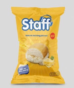 Staff - Bánh mì chà bông phô mai