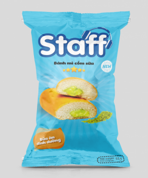 Staff - Bánh mì cốm sữa