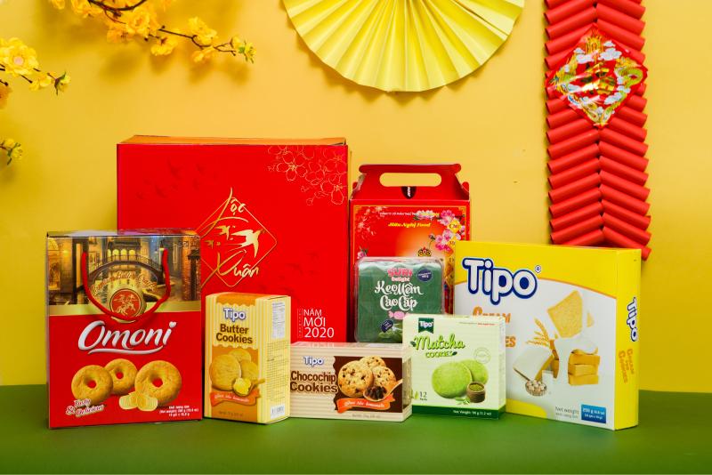 Danh mục sản phẩm Tết Hữu Nghị 2020 đa dạng với danh mục gần 40 loại bánh mứt kẹo