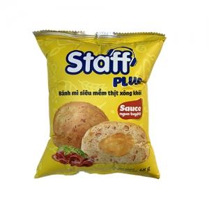 Staff - Bánh mì siêu mềm thịt xông khói